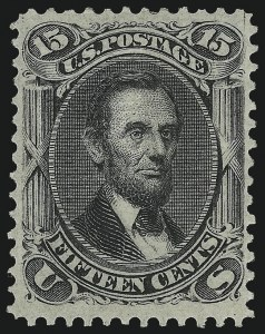 Sale Number 1077, Lot Number 106, 1867-68 Grilled Issue (Scott 79-101)15c Black, F. Grill (98), 15c Black, F. Grill (98)