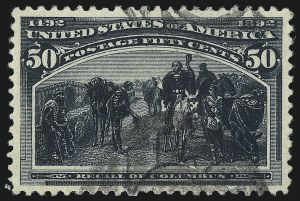 Sale Number 1077, Lot Number 174, 1893 Columbian Issue (Scott 230-245)50c Columbian (240), 50c Columbian (240)