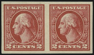 Sale Number 1077, Lot Number 310, 1917-22 Issues (Scott 481-573)2c Carmine, Ty. V, Imperforate (533), 2c Carmine, Ty. V, Imperforate (533)