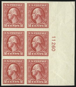 Sale Number 1077, Lot Number 311, 1917-22 Issues (Scott 481-573)2c Carmine, Ty. V, Imperforate (533), 2c Carmine, Ty. V, Imperforate (533)