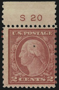 Sale Number 1077, Lot Number 315, 1917-22 Issues (Scott 481-573)2c Carmine Rose, Ty. II, Rotary Perf 11 x 10 (539), 2c Carmine Rose, Ty. II, Rotary Perf 11 x 10 (539)