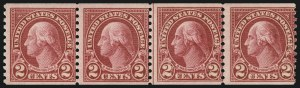 Sale Number 1077, Lot Number 337, Later Issues (Scott 599-3829)2c Carmine, Joint Line Pair, Ty. I, II (599-599A), 2c Carmine, Joint Line Pair, Ty. I, II (599-599A)