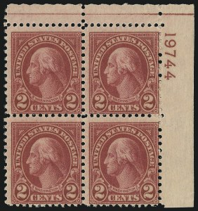 Sale Number 1077, Lot Number 339, Later Issues (Scott 599-3829)2c Carmine, Ty. II (634A), 2c Carmine, Ty. II (634A)