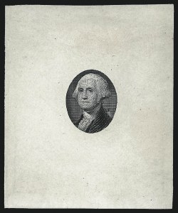 Sale Number 1077, Lot Number 4, Essays and Proofs[10c] Washington Vignette, Large Die Essay on Ivory Paper (68-E1), [10c] Washington Vignette, Large Die Essay on Ivory Paper (68-E1)