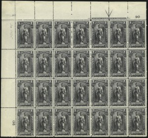 Sale Number 1077, Lot Number 457, Newspapers and Periodicals (PR)1c Black, 1895 Issue (PR102), 1c Black, 1895 Issue (PR102)