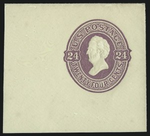 Sale Number 1077, Lot Number 492, Postal Stationery (U, UX)12c-25c 1874-86 Plimpton Issue (U197-U199, U201-U202), 12c-25c 1874-86 Plimpton Issue (U197-U199, U201-U202)