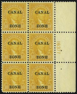Sale Number 1077, Lot Number 571, U.S. Possessions (Canal Zone)CANAL ZONE, 1925, 10c Orange (87), CANAL ZONE, 1925, 10c Orange (87)