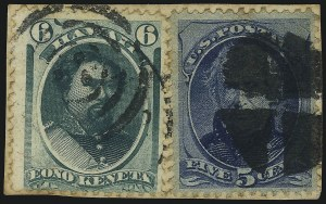 Sale Number 1077, Lot Number 751, Hawaii (Postage Issues)HAWAII, 1871, 6c Yellow Green (33), HAWAII, 1871, 6c Yellow Green (33)