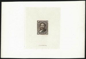 Sale Number 1077, Lot Number 752, Hawaii (Postage Issues)HAWAII, 1875, 2c Brown, Large Die Proof on India (35P1), HAWAII, 1875, 2c Brown, Large Die Proof on India (35P1)