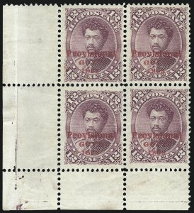 Sale Number 1077, Lot Number 755, Hawaii (Postage Issues)HAWAII, 1893, 12c Red Lilac, Red Ovpt. (63), HAWAII, 1893, 12c Red Lilac, Red Ovpt. (63)