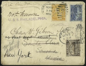 Sale Number 1077, Lot Number 760, Hawaii (Postage Issues)HAWAII, 1894, 1c Yellow, 2c Brown, 12c Blue (74, 75, 78), HAWAII, 1894, 1c Yellow, 2c Brown, 12c Blue (74, 75, 78)