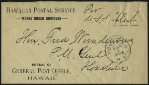 Sale Number 1077, Lot Number 780, Hawaii (Officials)HAWAII, Hawaiian Postal Service, HAWAII, Hawaiian Postal Service