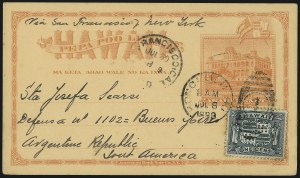 Sale Number 1077, Lot Number 797, Hawaii (Used Postal Cards)HAWAII, 1899, 1c Dark Green (80), HAWAII, 1899, 1c Dark Green (80)