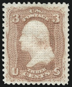 Sale Number 1077, Lot Number 91, 1867-68 Grilled Issue (Scott 79-101)3c Rose, C. Grill (83), 3c Rose, C. Grill (83)