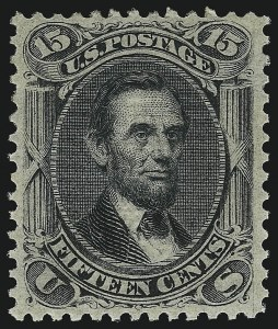 Sale Number 1077, Lot Number 99, 1867-68 Grilled Issue (Scott 79-101)15c Black, E. Grill (91), 15c Black, E. Grill (91)