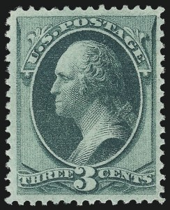Sale Number 1078, Lot Number 285, 1870 National Bank Note Co. Grilled Issue (Scott 134-144)3c Green, I. Grill (136A), 3c Green, I. Grill (136A)