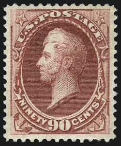 Sale Number 1078, Lot Number 298, 1870-93 Bank Note Issues (Scott 148-225)90c Carmine (155), 90c Carmine (155)