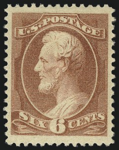 Sale Number 1078, Lot Number 326, 1870-93 Bank Note Issues (Scott 148-225)6c Rose (208), 6c Rose (208)
