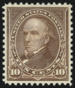 Sale Number 1078, Lot Number 414, 1894-98 Bureau Issues (Scott 249-284)10c Brown, Ty. I (282C), 10c Brown, Ty. I (282C)