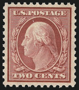 Sale Number 1078, Lot Number 572, 1912-23 Washington-Franklin Issues, cont.2c Carmine (519), 2c Carmine (519)