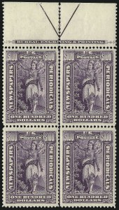 Sale Number 1079, Lot Number 2215, 1895-97 Watermarked Issue Unused (Scott PR114-PR125)1c-$100.00 1895 Watermarked Issue (PR114-PR125), 1c-$100.00 1895 Watermarked Issue (PR114-PR125)