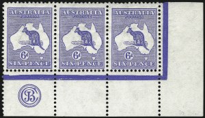 Sale Number 1081, Lot Number 3045, First Watermark Issue 6p Ultramarine (BW 17zb), 6p Ultramarine (BW 17zb)