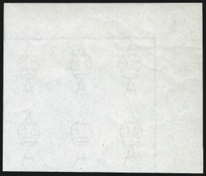 Sale Number 1081, Lot Number 3062, Third Watermark Issue Third Watermark Paper Samples Assemblage, Third Watermark Paper Samples Assemblage