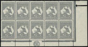 Sale Number 1081, Lot Number 3067, Third Watermark Issue 2p Gray, Die IIA (BW 8zb), 2p Gray, Die IIA (BW 8zb)