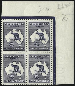 Sale Number 1081, Lot Number 3069, Third Watermark Issue 2-1/2p Blue, Watermark Inverted (BW 11a), 2-1/2p Blue, Watermark Inverted (BW 11a)