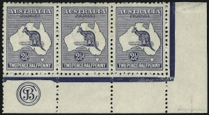 Sale Number 1081, Lot Number 3073, Third Watermark Issue 2-1/2p Blue (BW 11zb), 2-1/2p Blue (BW 11zb)