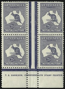 Sale Number 1081, Lot Number 3074, Third Watermark Issue 2-1/2p Blue (BW 11zd), 2-1/2p Blue (BW 11zd)
