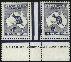 Sale Number 1081, Lot Number 3075, Third Watermark Issue 2-1/2p Blue (BW 11ze), 2-1/2p Blue (BW 11ze)