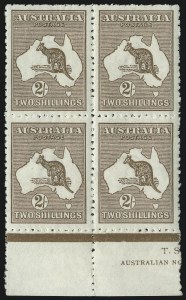 Sale Number 1081, Lot Number 3101, Third Watermark Issue 2sh Brown (BW 37), 2sh Brown (BW 37)