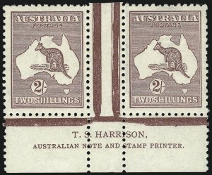 Sale Number 1081, Lot Number 3107, Third Watermark Issue 2sh Maroon (BW 38za), 2sh Maroon (BW 38za)