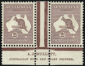 Sale Number 1081, Lot Number 3108, Third Watermark Issue 2sh Maroon (BW 38zc), 2sh Maroon (BW 38zc)