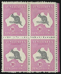 Sale Number 1081, Lot Number 3114, Third Watermark Issue 10sh Gray and Deep Aniline Pink, Watermark Inverted (BW 48Ba; Scott 55 var; SG 43aw), 10sh Gray and Deep Aniline Pink, Watermark Inverted (BW 48Ba; Scott 55 var; SG 43aw)