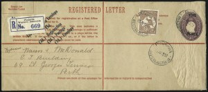 Sale Number 1081, Lot Number 3120, Small Multiple Watermark Issue6p Chestnut (BW 22), 6p Chestnut (BW 22)