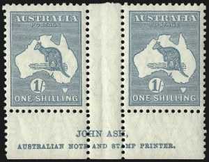 Sale Number 1081, Lot Number 3127, Small Multiple Watermark Issue1sh Emerald (BW 34Aza), 1sh Emerald (BW 34Aza)