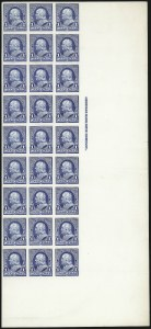 Sale Number 1082, Lot Number 133, Essays and Proofs: 1890-93 Issue1c Ultramarine, Plate Proof on Card (219P4), 1c Ultramarine, Plate Proof on Card (219P4)