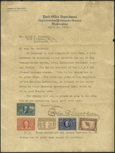 Sale Number 1082, Lot Number 291, Essays and Proofs: Specimen Overprints1c-10c Louisiana Purchase, Specimen Ovpts. Ty. E (323S-327S-E), 1c-10c Louisiana Purchase, Specimen Ovpts. Ty. E (323S-327S-E)