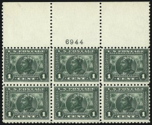 Sale Number 1082, Lot Number 453, 1902-08 and Later Issues1c Panama-Pacific, Perf 10 (401), 1c Panama-Pacific, Perf 10 (401)