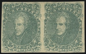 Sale Number 1082, Lot Number 604, Confederate States: Essays and Proofs, General Issues2c Green (3), 2c Green (3)