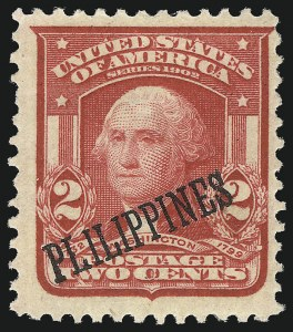 Sale Number 1082, Lot Number 664, United States Possessions: PhilippinesPHILIPPINES, 1903-04, 1c-10c Overprint Varieties (226/240), PHILIPPINES, 1903-04, 1c-10c Overprint Varieties (226/240)