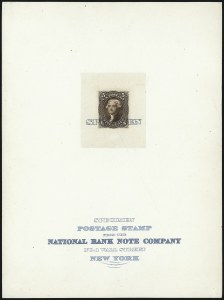"Sale Number 1082, Lot Number 67, Essays and Proofs: 1861-66 Issue5c Brown, Large Die Proof on India, ""Specimen"" Ovpt. (76P1 var), 5c Brown, Large Die Proof on India, ""Specimen"" Ovpt. (76P1 var)"
