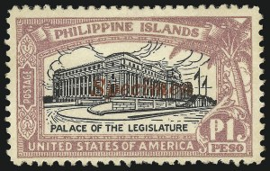 "Sale Number 1082, Lot Number 683, United States Possessions: PhilippinesPHILIPPINES, 1917-25, 1926, 2c-4p Regular Issue, ""Specimen"" Overprints (290S-304S, 319S-325S), PHILIPPINES, 1917-25, 1926, 2c-4p Regular Issue, ""Specimen"" Overprints (290S-304S, 319S-325S)"