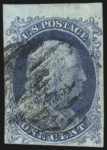 Sale Number 1084, Lot Number 3031, 1c 1851-56 Issue (Scott 5-9)1c Blue, Ty. Ib (5A), 1c Blue, Ty. Ib (5A)