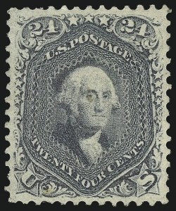 Sale Number 1084, Lot Number 3204, 1861-66 Issue, cont. (Scott 70-78)24c Steel Blue (70b), 24c Steel Blue (70b)