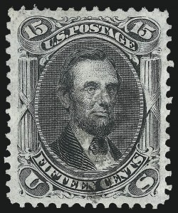 Sale Number 1084, Lot Number 3286, 1867-68 Grilled Issue, cont. (Scott 92-101)15c Black, F. Grill (98), 15c Black, F. Grill (98)