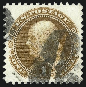Sale Number 1084, Lot Number 3350, 1875 Re-Issue of 1869 Pictorial Issue (Scott 123-133a)1c Buff, Re-Issue (123), 1c Buff, Re-Issue (123)