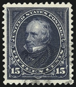 Sale Number 1084, Lot Number 3617, 1895 Watermarked Bureau Issue (Scott 264-278)15c Dark Blue (274), 15c Dark Blue (274)